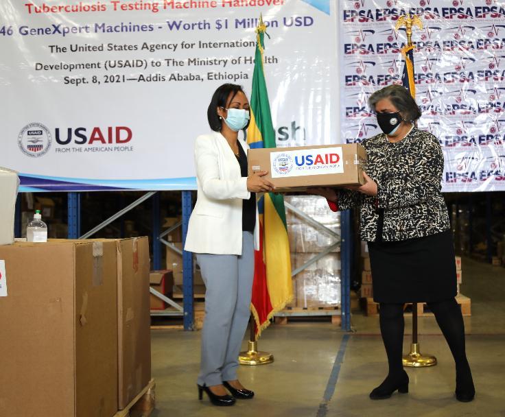 USAID Donates 1 Mln USD Worth of TB Testing Machines to Ethiopia