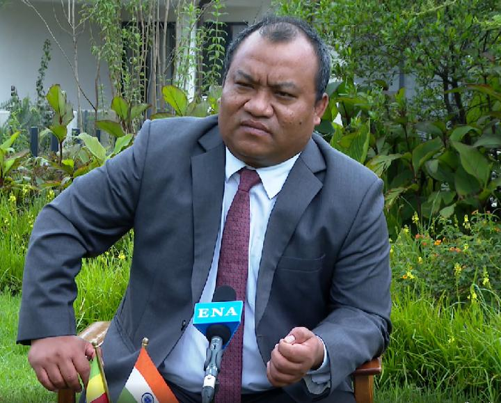 India Committed to Unity, Sovereignty & Territorial Integrity of Ethiopia: Ambassador Shetkintong