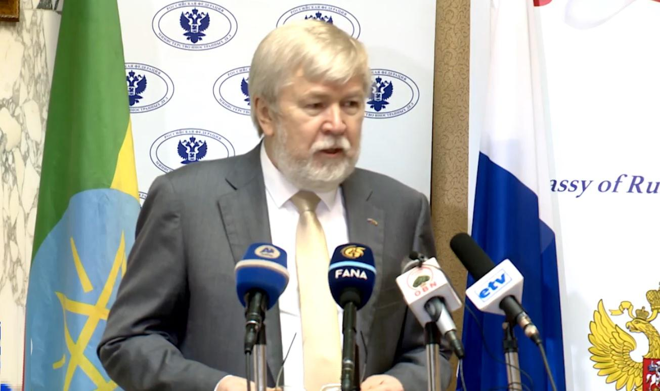 Russian Ambassador Urges Ethiopians to Defend their National Interest