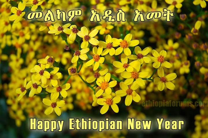 Ethiopians Celebrate Enkutatash (New Year)