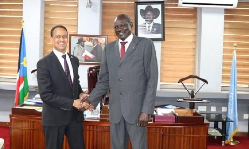 Relations b/n Ethiopia, South Sudan Will Not Be affected by Any Changes: South Sudanes Minister