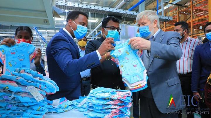 Russian Ambassador to Ethiopia Visits Bole Lemi, Kilinto Industry Parks