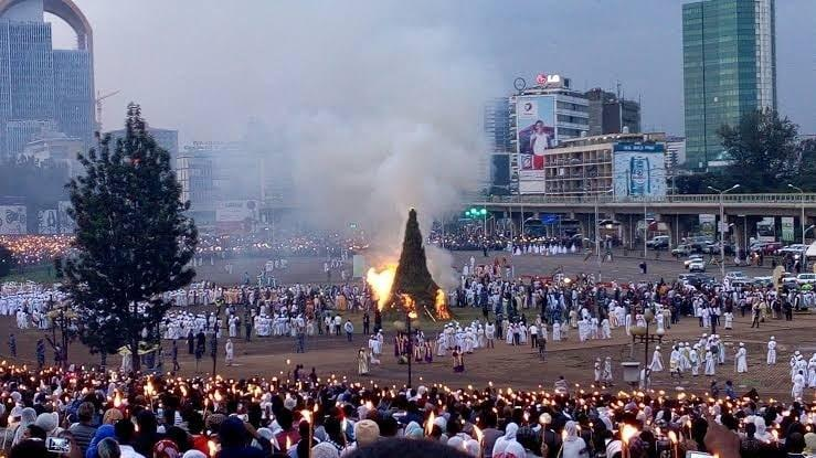 Meskel, Ethiopia's Spring Religious Festival, New Year with New Government