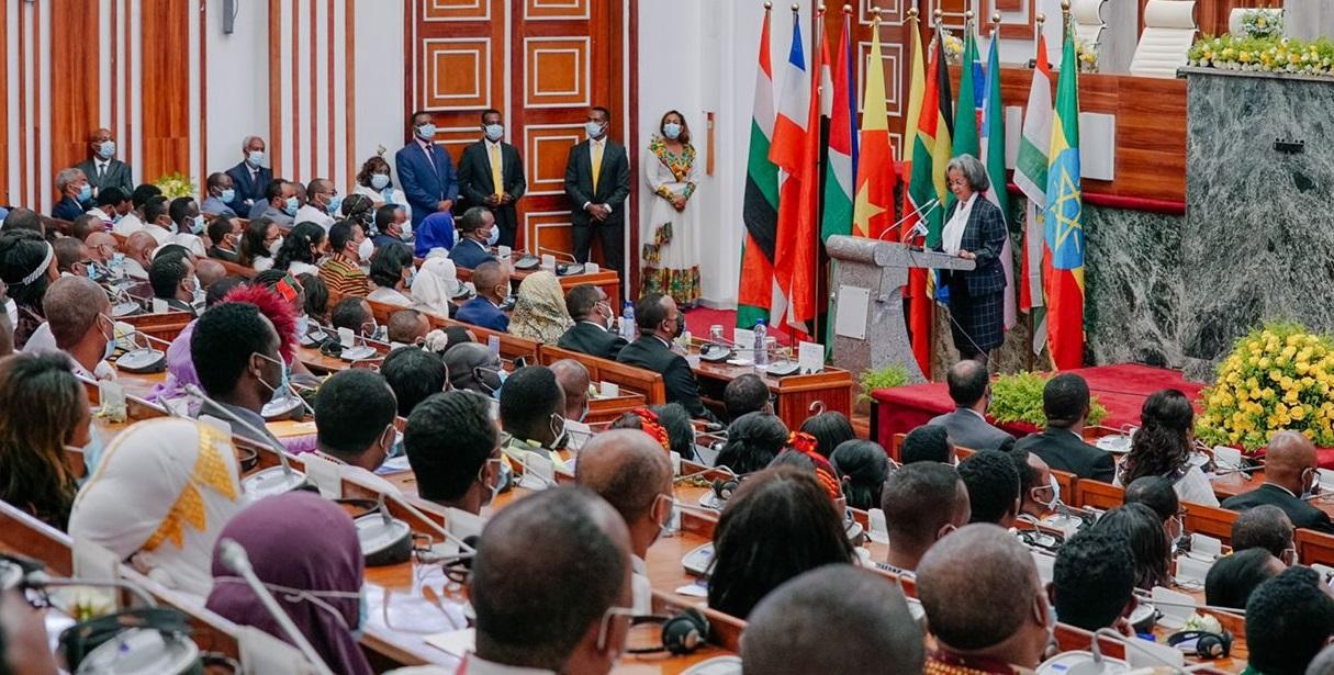 President Calls for Strong Parliament, National Consensus
