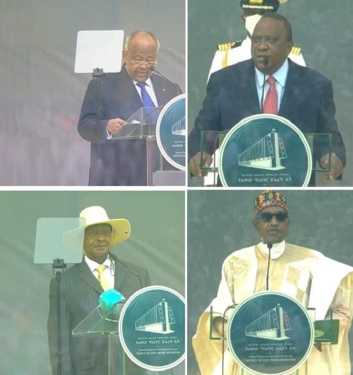 African Leaders Express Support to Ethiopia