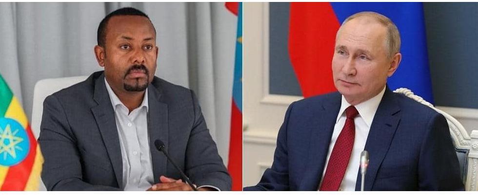 President Putin Congratulates PM Abiy