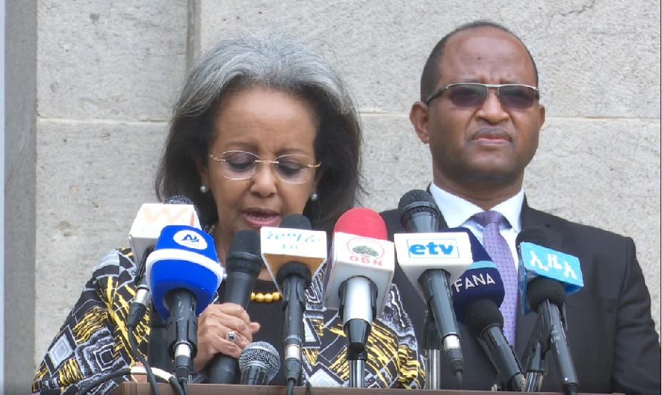 Ethiopians Need to Work Together to Overcome Emerging Challenges: President Sahlework