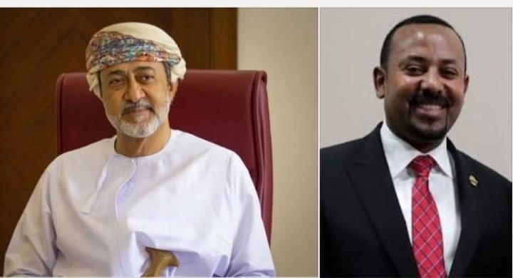 Sultan of Oman Congratulates Abiy on Re-election As Prime Minister of Ethiopia