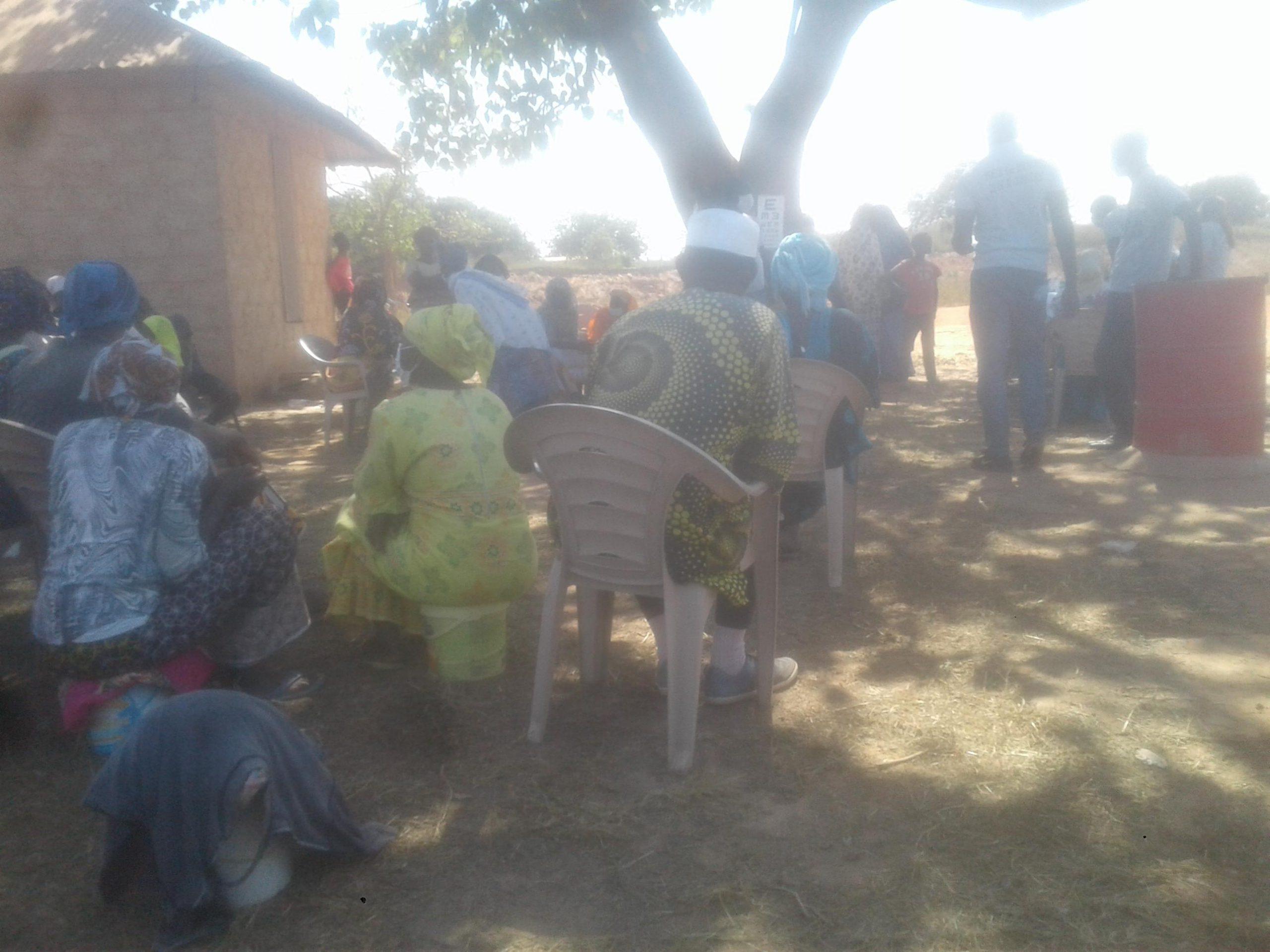 89 Women miners receive free eye screening from Gui mam eye care