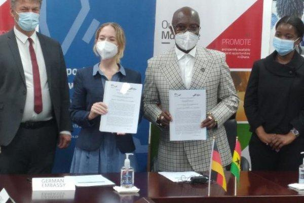 German Cooperation and GIPC sign MoU to promote job creation