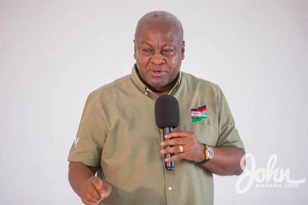 Former President Mahama calls on NDC supporters to exercise restrain