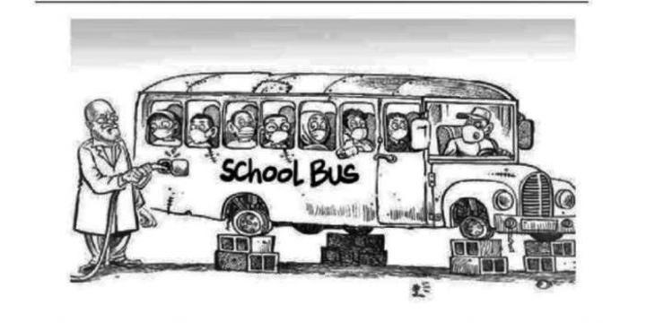 Magoha Rants Over School Bus Cartoon