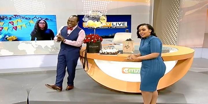 Watch Jeff Koinange Ambush Citizen TV Director During Bulletin
