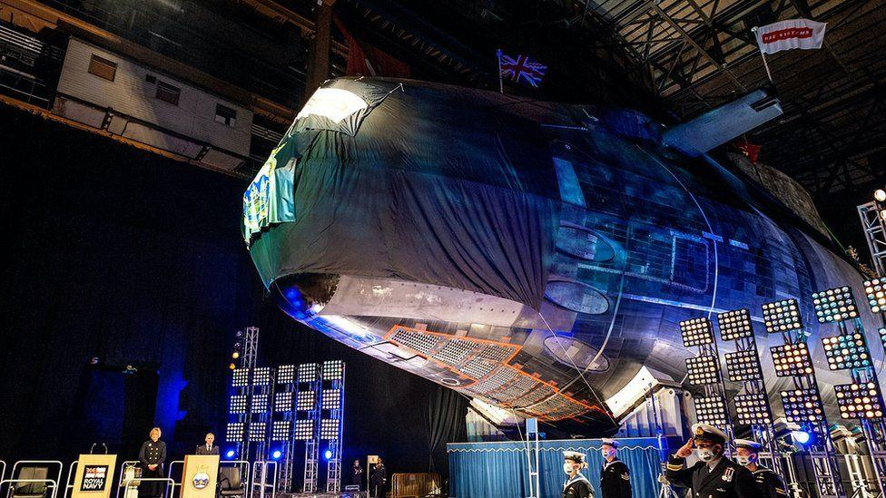 The Navy sub commanded by artificial intelligence