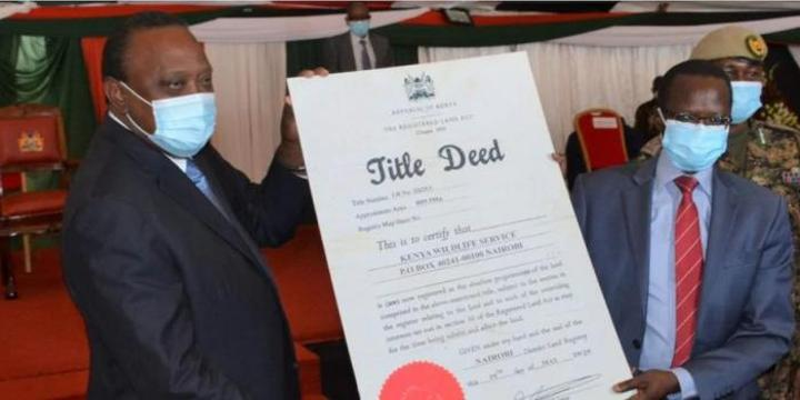 Uhuru Intervenes to End Fight Over 56,000 Acre Ranch