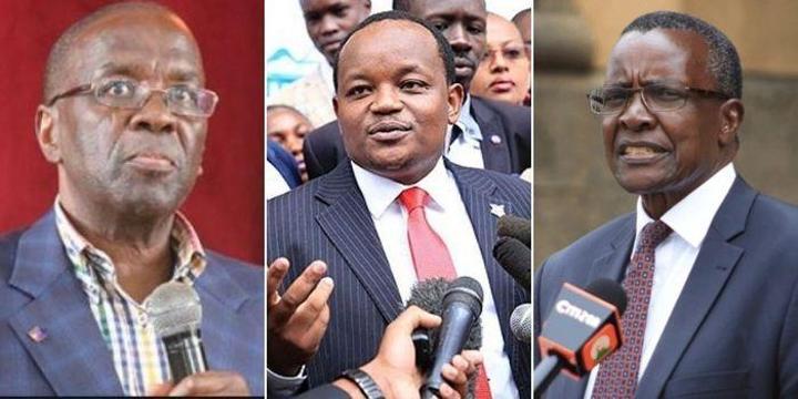 Shut Up - Ngunjiri Wambugu Slams Maraga & Mutunga
