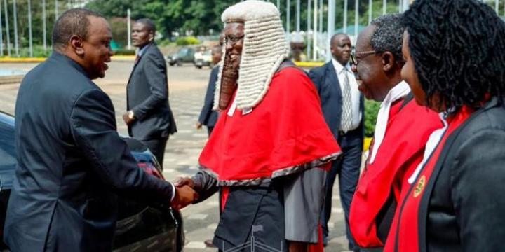 Maraga Breaks Retirement Silence to Blast Uhuru [VIDEO]
