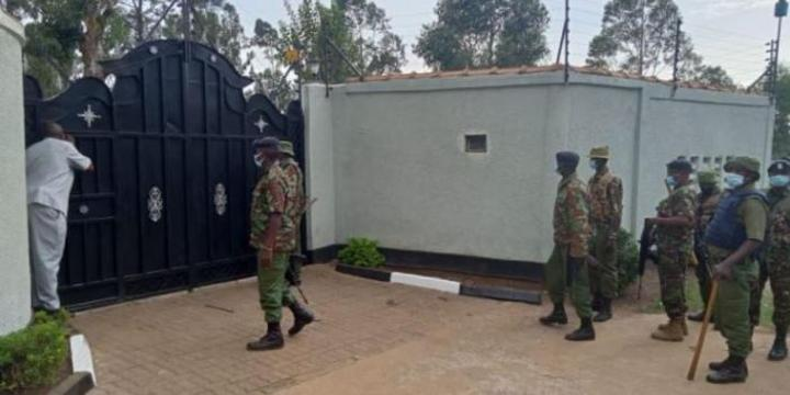 How Three Armed Men Stole Ksh 20M at Muthaiga Mansion