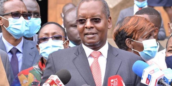 Amos Kimunya Withdraws Controversial Bill After Uproar