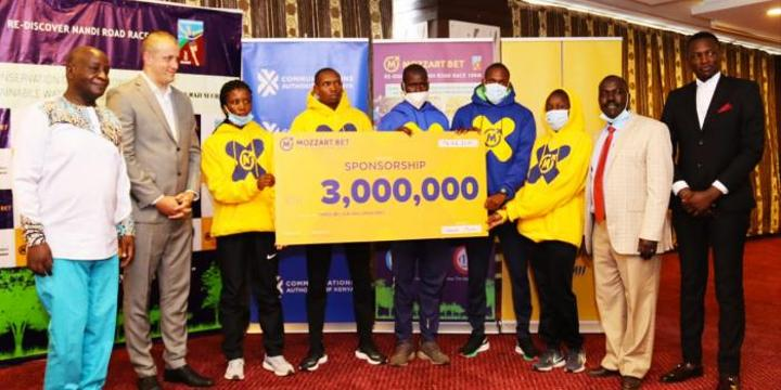Mozzart Sponsors Nandi Road Race