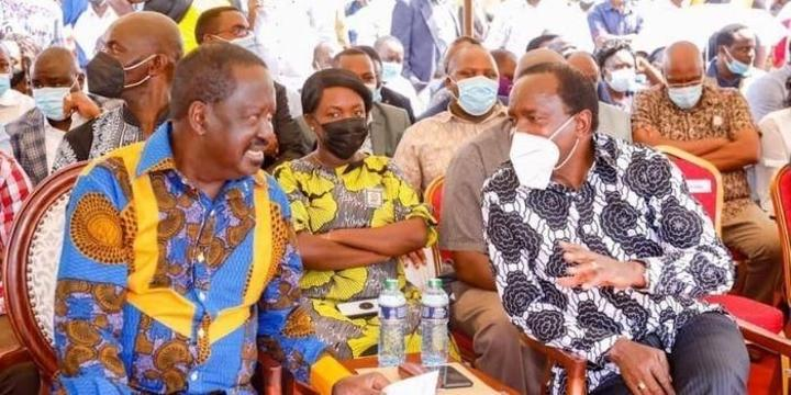 Why Kalonzo Allies Want Nothing to do With Raila