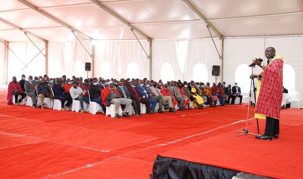 'Rescuing Kenya from hostage': Ruto sells 2022 agenda in Karen