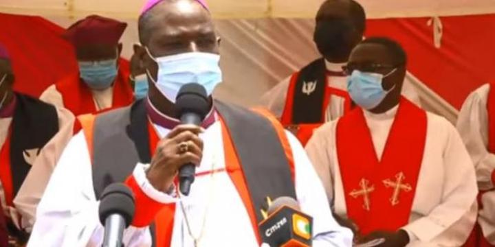 Archbishop Who Blocked Politicians in Church Defends Mudavadi