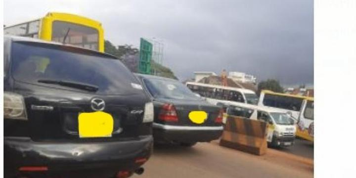 How a Minor Accident Caused Major Traffic Snarl up on Busy Nairobi Road
