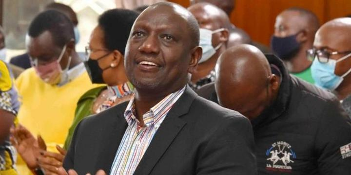 Ruto: God Has Changed Me From a Hustler to a Survivor