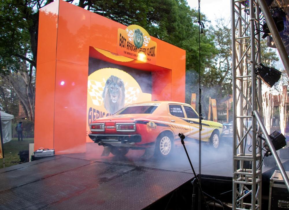 Safari Classic Mini Rally to curtain raise main show