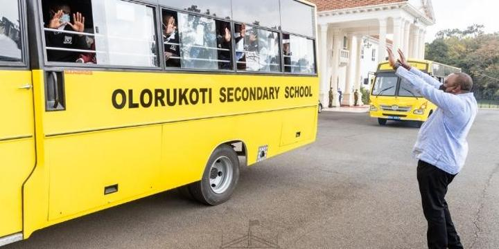 Ministry of Education Responds to Uproar on Uhuru Donating School Buses