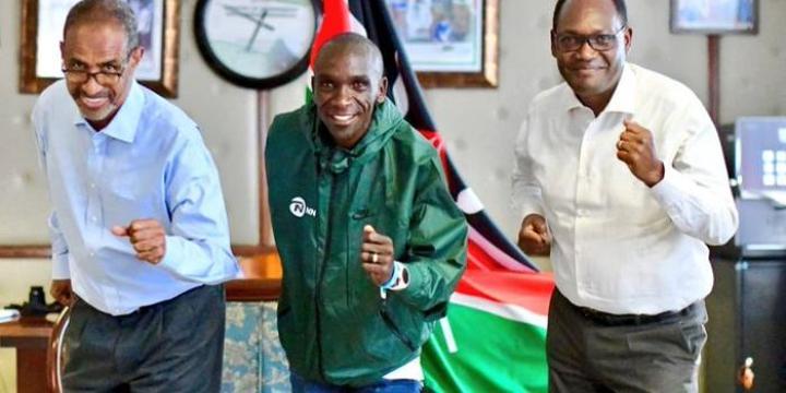 Eliud Kipchoge to Represent Kenya at a UN Conference