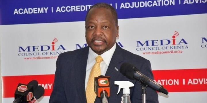 Mutahi Kagwe Addresses Reports of Eyeing Runningmate Position in 2022