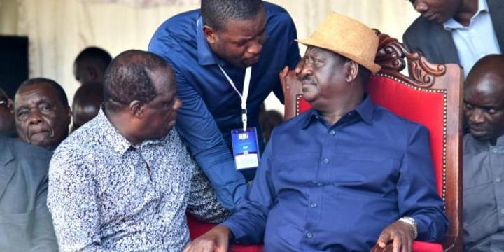 New MoU Blocking OKA Principals From Working With Raila
