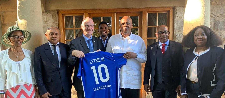 FIFA boss visits Lesotho