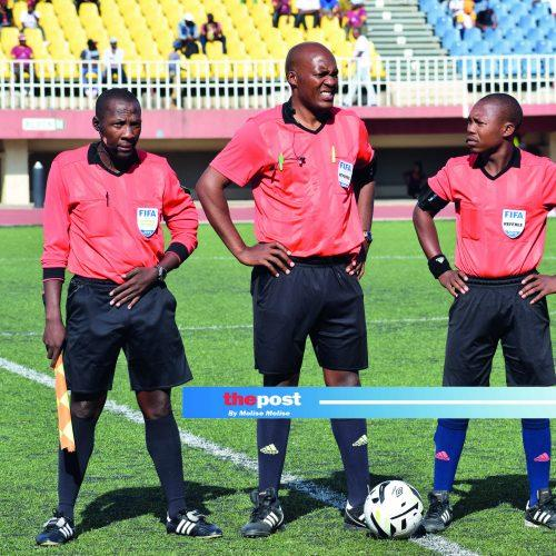 Lesotho match officials off to PE