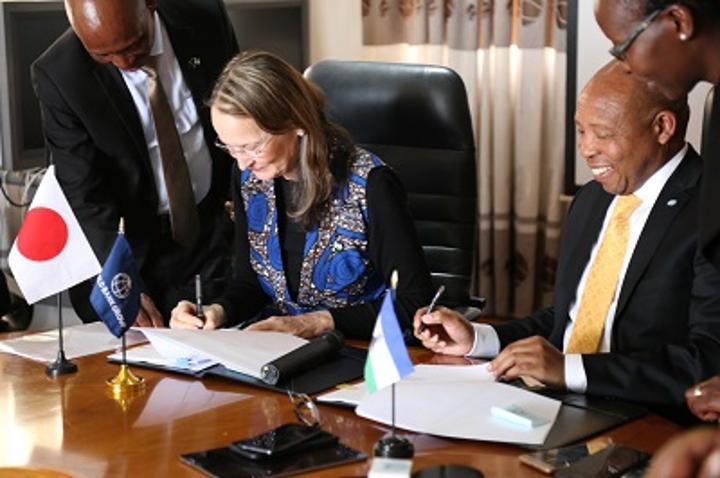 Lesotho granted M1.89 billion loan