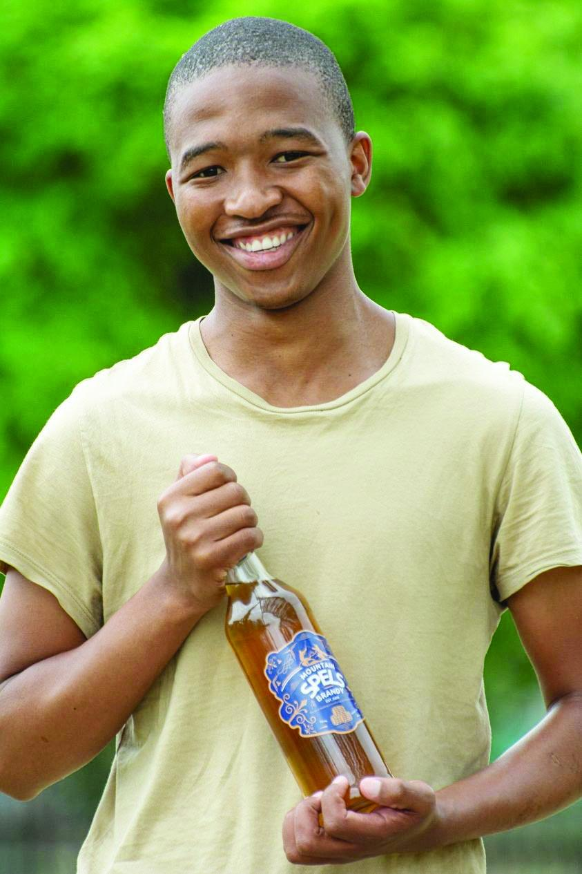 NUL student distils Lesotho's own brandy