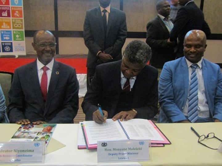 UN, Lesotho collaborate in development