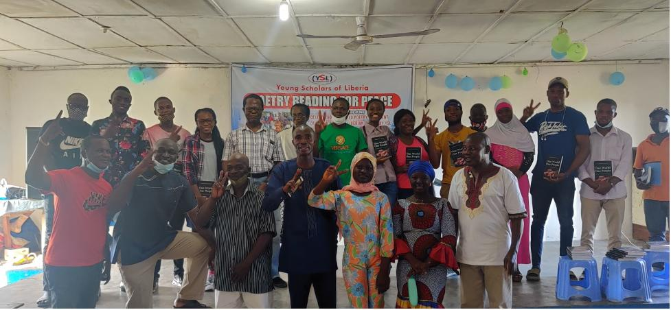 Young Scholars of Liberia Thrill Hundreds with Poems For Peace