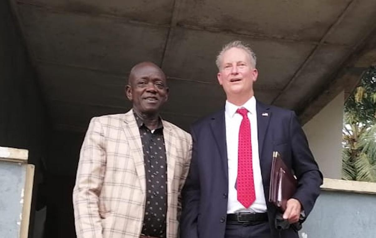 """""""We Stand With Hassan Bility For His Work"""" – U.S. Ambassador to Liberia"""