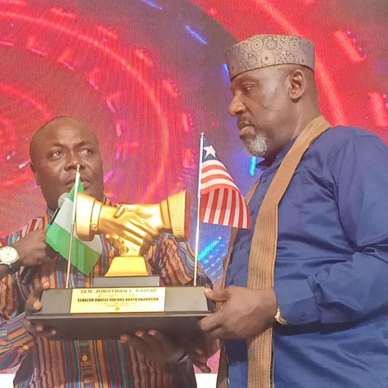 Sen. Kaipay Applauds, Honors Influential Nigerian Colleague's Humanitarian Gesture Towards Destitute Liberian Students