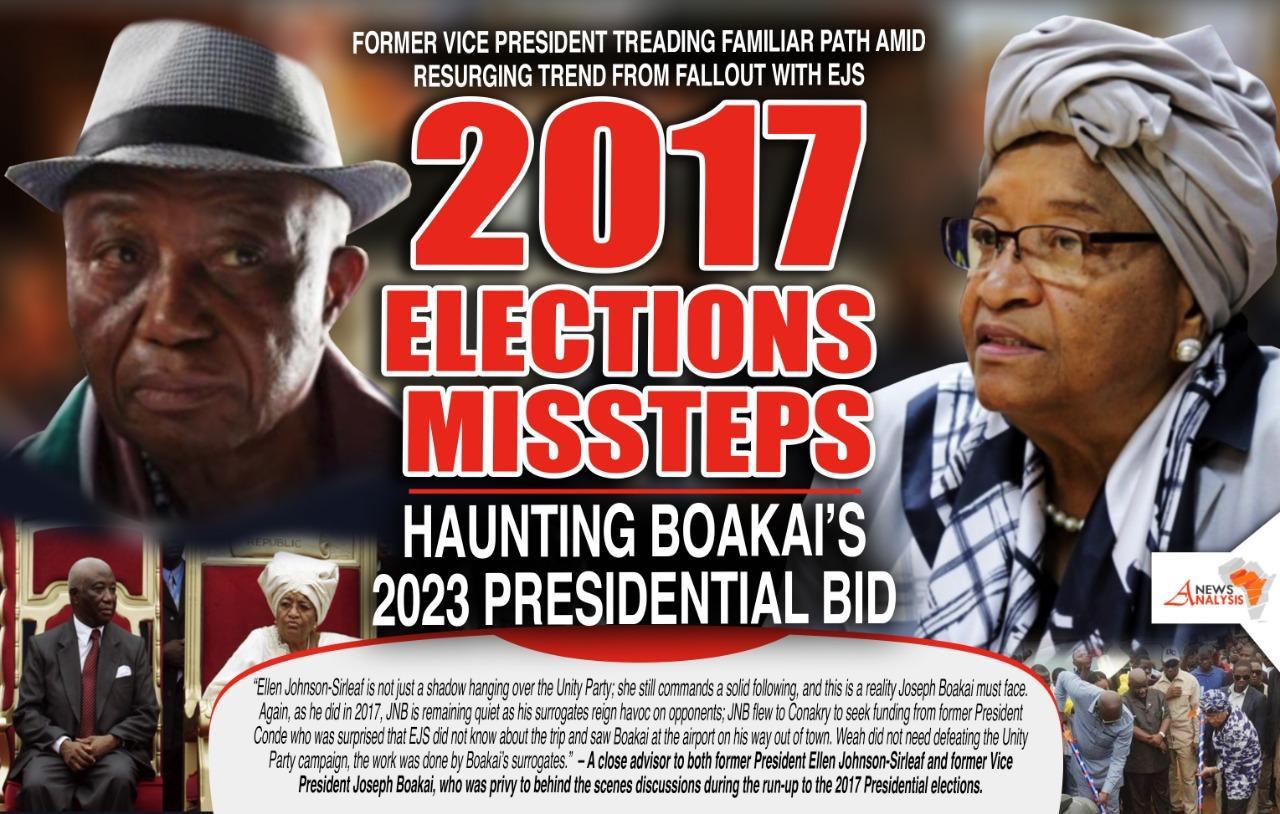 VP Boakai Treading Familiar Path Amid Resurging Missteps From EJS Fallout