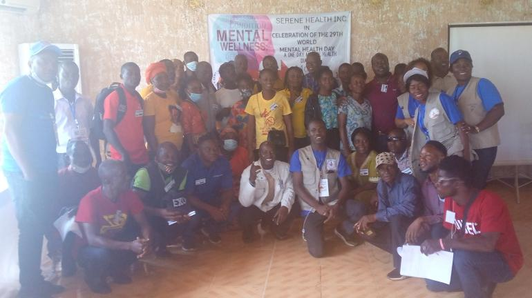 Serene Health Incorporated, Carter Center Commemorates World Mental Health Day