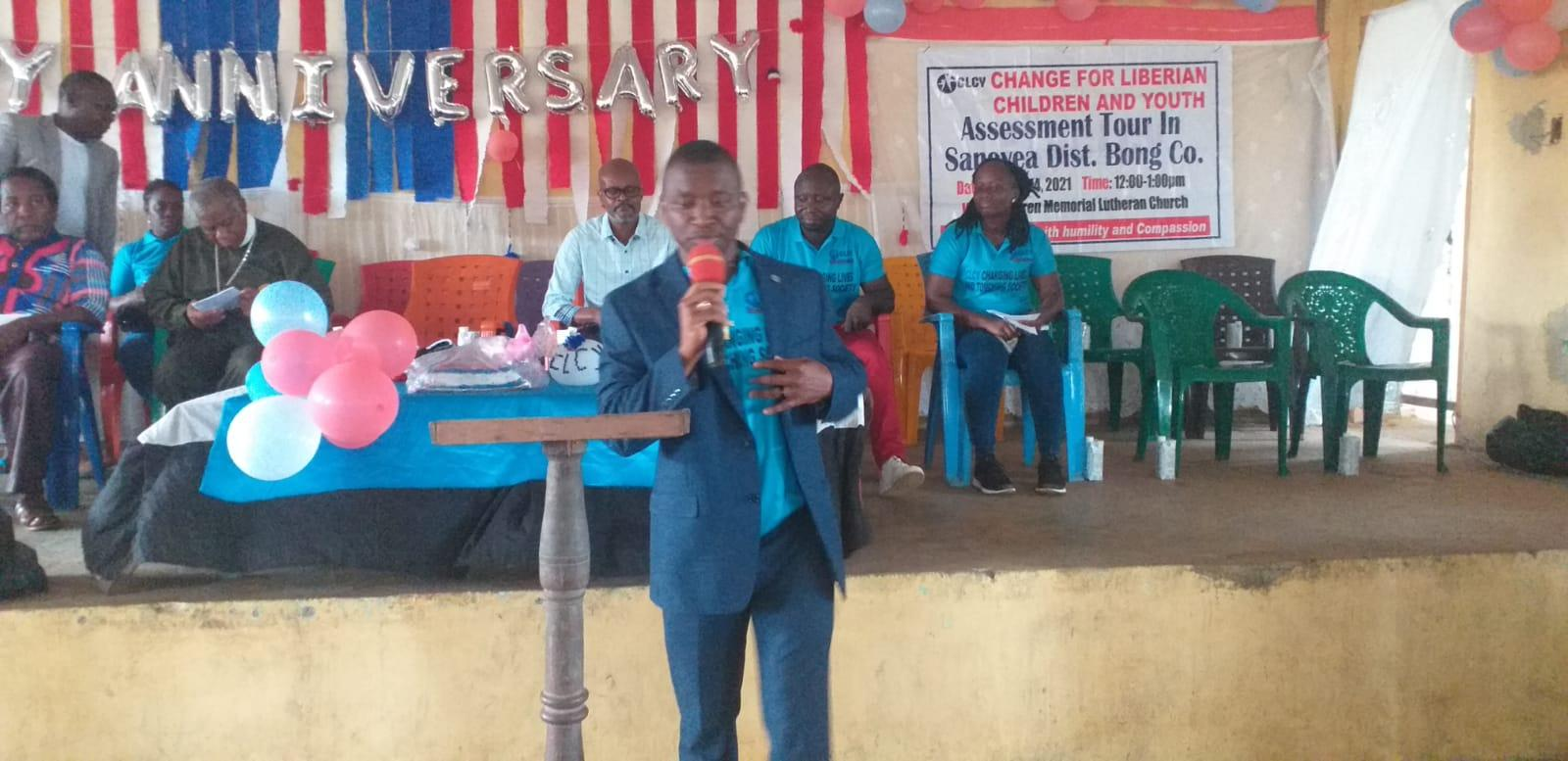Change for Liberian Children and Youth Celebrates 3rd Anniversary with Commitment to Reach out to More Underprivileged People