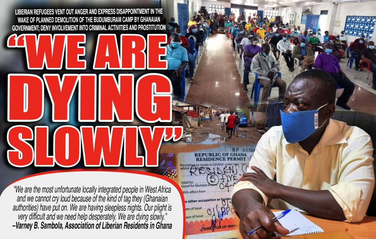 Liberian Refugees at Buduburam Camp Deny Involvement in Criminal Activities; Expect More Support from Liberian Government
