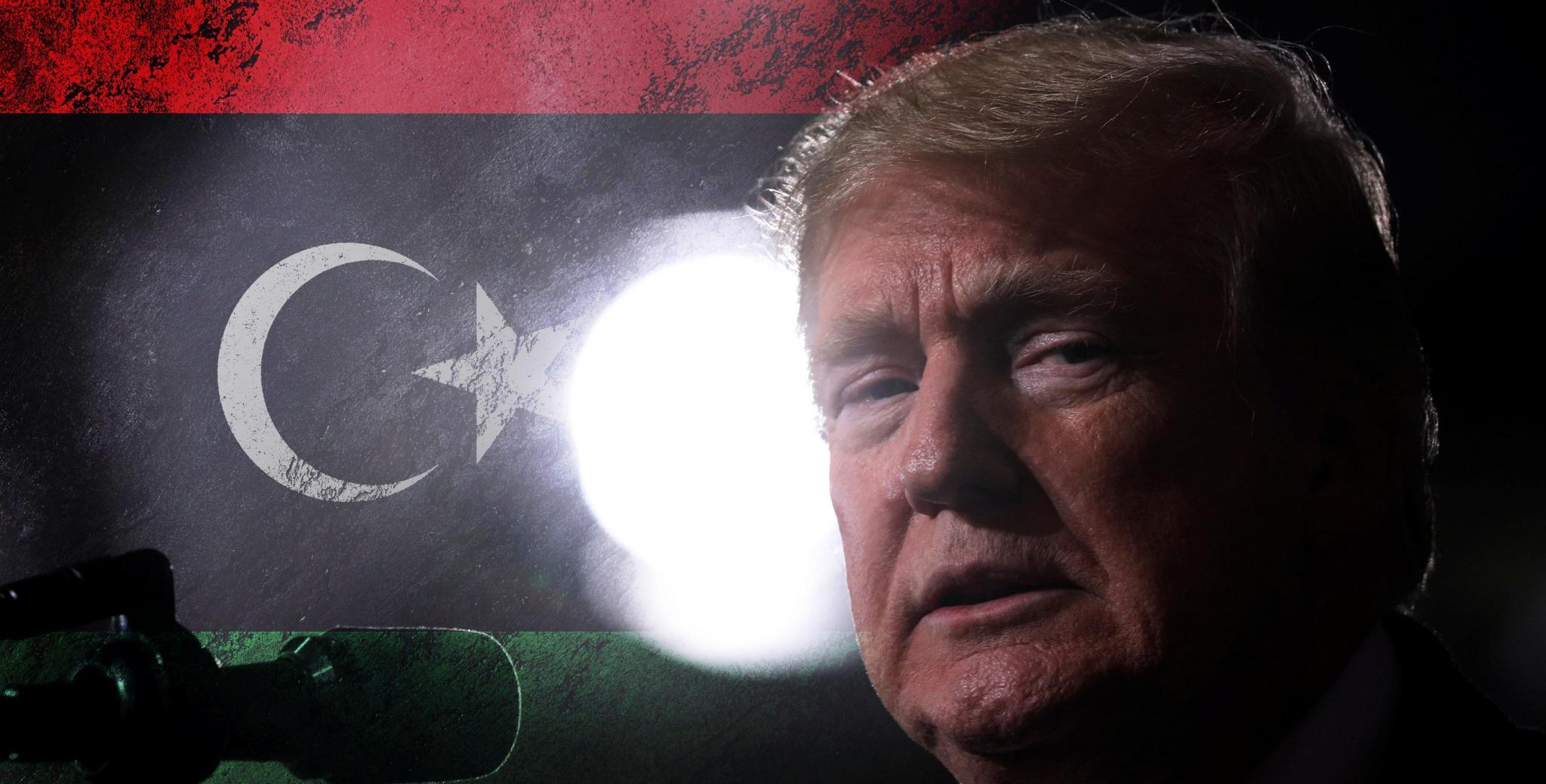 الرئيس الأمريكي دونالد ترامب ومستقبل ليبيا