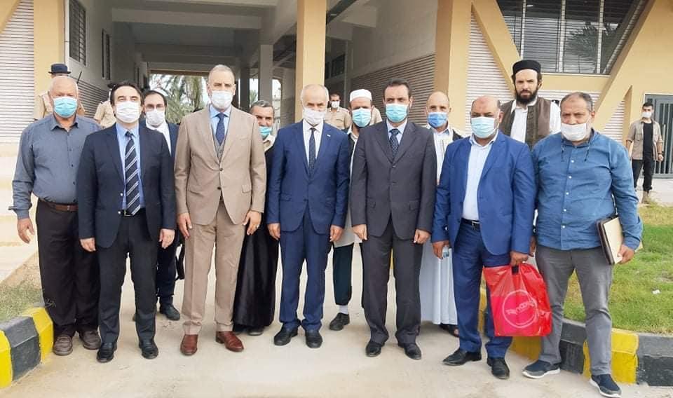 بلدية تاجوراء تستقبل السفير التركي لدى ليبيا