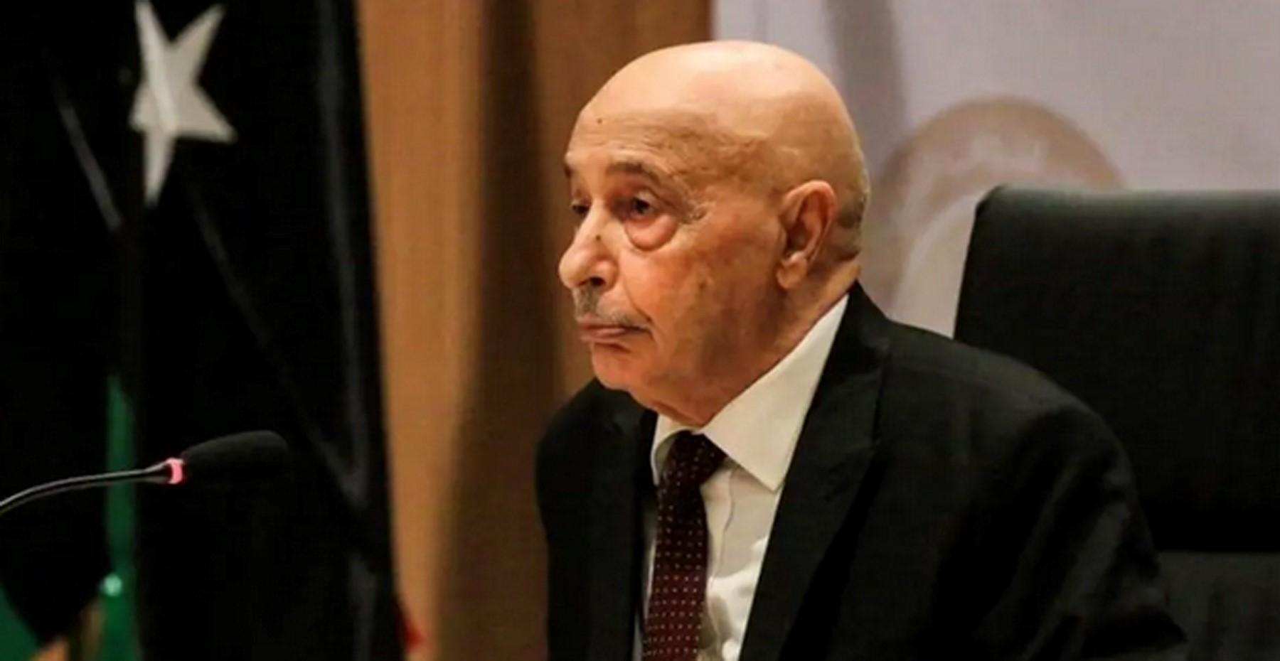عقيلة صالح يصل القاهرة لبحث التطورات الليبية