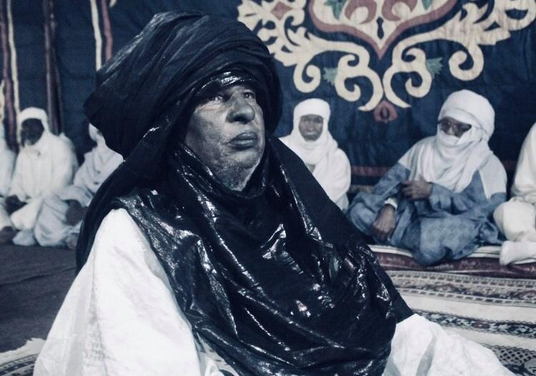 وفاة رئيس المجلس الاجتماعي لقبائل التوارق الحاج حسين الكوني